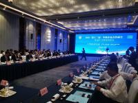 梁铁山会长赴济南市 列席2019中国500强企业顶峰论坛系列运动 并赴海潮团体调查调研
